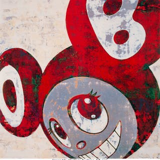 Takashi Murakami (Japanese, b. 1962) And then, and then and then and