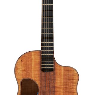 Modern McPherson MG-5.0 XPH Natural Acoustic Guitar, Serial # 0814....