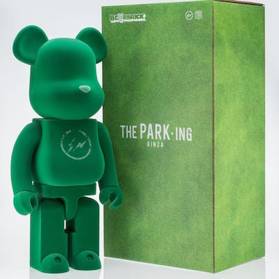 BE@RBRICK X Fragment The Park-Ing Ginza 1000%, 2017 Cast resin flocked