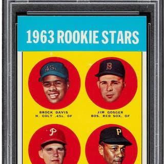 1963 Topps Willie Stargell - 1963 Rookie Stars #553 PSA Mint 9.