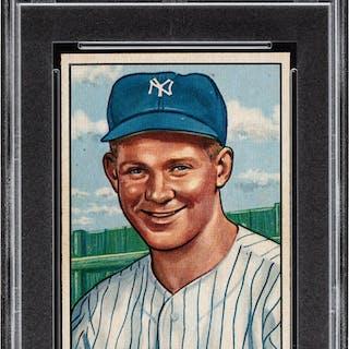 1951 Bowman Whitey Ford #1 PSA NM-MT 8.