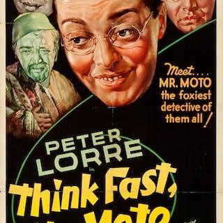 Think Fast, Mr. Moto (20th Century Fox, 1937)