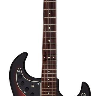 Circa 1964 Ampeg Jazz Redburst Solid Body Electric Guitar, Serial # 2720. ...