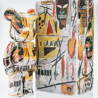 BE@RBRICK X The Estate of Jean-Michel Basquiat Jean-Michel Basquiat