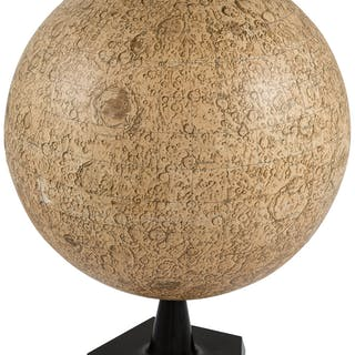 Neil Armstrong's Personal Moon Globe Directly From The Armstrong Family