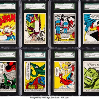 1966 Donruss Marvel Super Heroes Graded Collection (19).