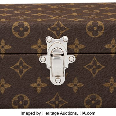 "Louis Vuitton ""Coffret Bouton de Manchettes"" Cuffg:link Box  Condition:"