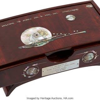 Giant Leap World Tour, 11/03-04 (South Korea): Wooden Storage Box