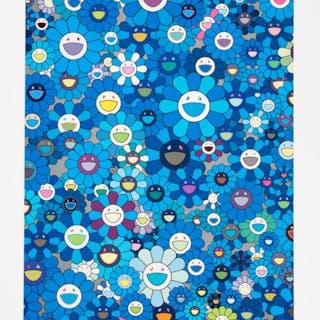 Takashi Murakami (Japanese, b. 1962) An Homage to IKB, 1957, 2011