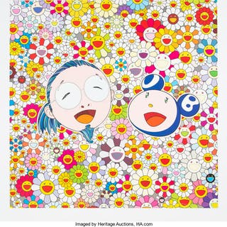 Takashi Murakami (Japanese, b. 1962) Me and Mr. DOB, 2009 Offset lithograph