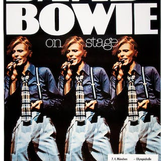 "David Bowie ""On Stage"" Station to Station Multi-Date German Concert"