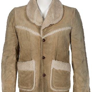 Elvis Presley Owned and Worn Suede Jacket (circa 1960s).  ...