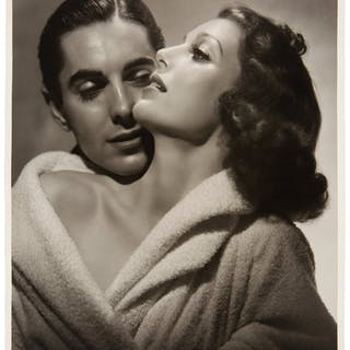 Loretta Young/Tyrone Power Black and White Picture from Original Negative