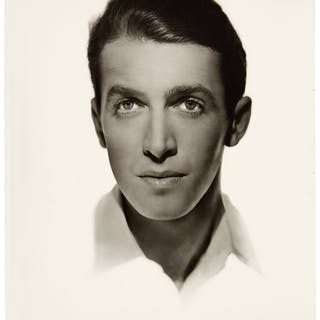 James Stewart Black and White Photo Made from Original Negative Hand