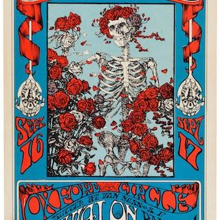 Family Dog/Avalon Ballroom Concert Posters - Complete Near-Mint Set