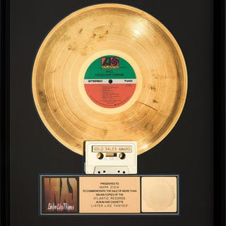INXS Listen Like Thieves RIAA Hologram Gold Sales Award (Atlantic, 1985).  ...