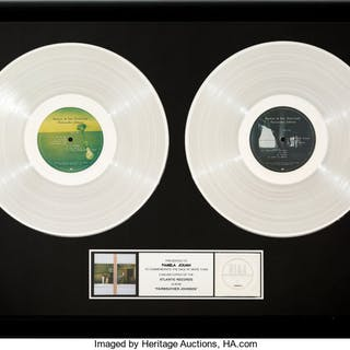 Hootie and the Blowfish Fairweather Johnson RIAA Hologram Double Platinum