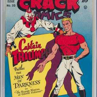 Crack Comics #33