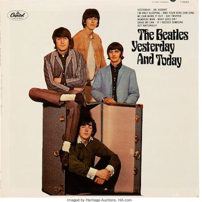 The Beatles Yesterday and Today Mono Vinyl LP Still Sealed (Capitol