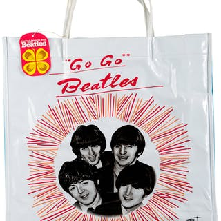 The Beatles Japanese Tote Bags (1966).  ...