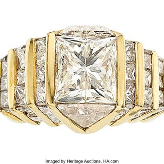 Diamond, Gold Ring ...