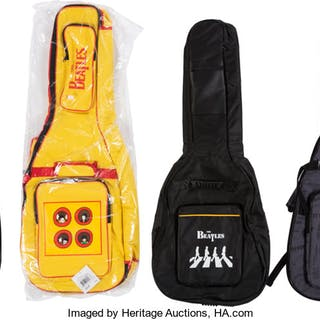 The Beatles Soft Guitar Cases (4). ...