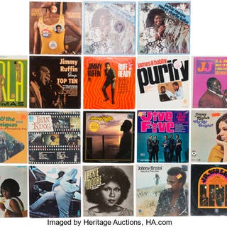 Group of 22 Various Soul/R&B Vinyl LPs.  ... (Total: 22 Items)