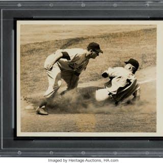 1952 Mickey Mantle Original News Photograph, PSA/DNA Type 1.