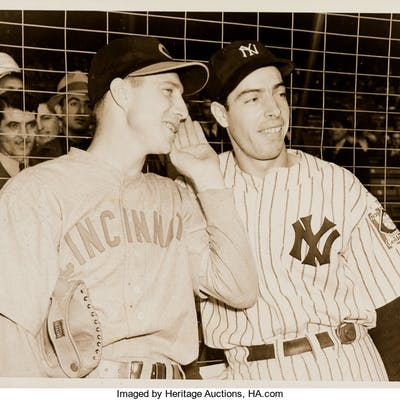 1939 Joe DiMaggio World Series Original New Photograph, PSA/DNA Type 1.