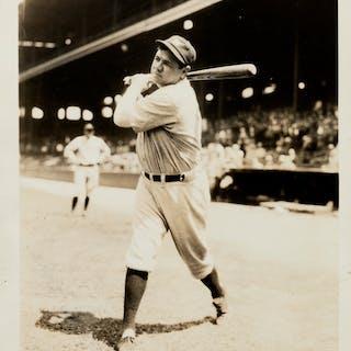 1920's Babe Ruth Original Photograph, PSA/DNA Type 1.