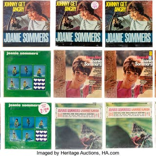 Joanie Sommers Group of 13 Vinyl LPs.  ... (Total: 13 Items)