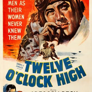 Twelve O'Clock High (20th Century Fox, 1949)