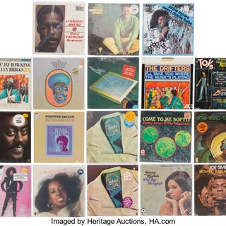 Group of 22 Various Soul/R&B Vinyl LPs.  ... (Total: 22 Items)