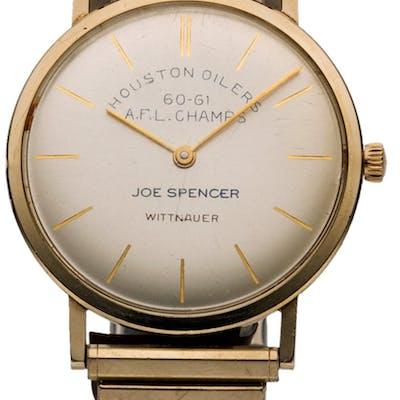 1960-61 Joe Spencer Houston Oilers AFL Champions Watch.