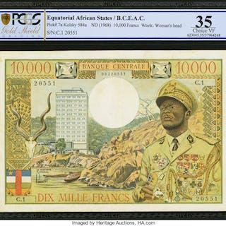 Equatorial African States Banque Centrale Etats De L'Afrique Equatoriale