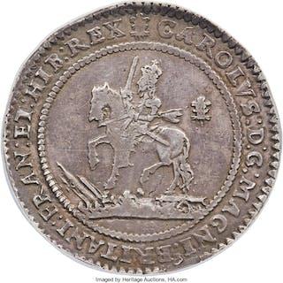 Charles I (1627-1649) Pound 1642 XF40 NGC,...