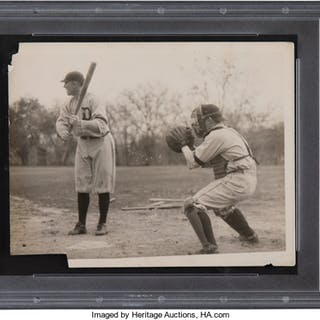 1920's Ty Cobb Original Photograph, PSA/DNA Type 1.