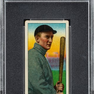1909-11 T206 Tolstoi Ty Cobb (Bat Off Shoulder) PSA VG 3.