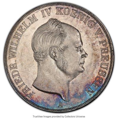 Prussia. Friedrich Wilhelm IV 2 Taler 1855-A MS62 PCGS,...
