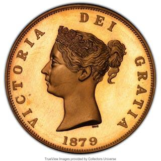 "Victoria bronze Proof Piefort INA Retro Issue ""Three Graces"" Crown"