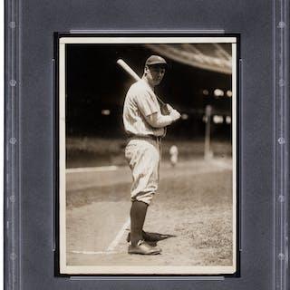 1929 Lou Gehrig Original News Photograph, PSA/DNA Type 1.