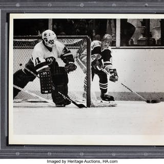 1979 Wayne Gretzky Original Rookie Season Photograph, PSA/DNA Type 1.