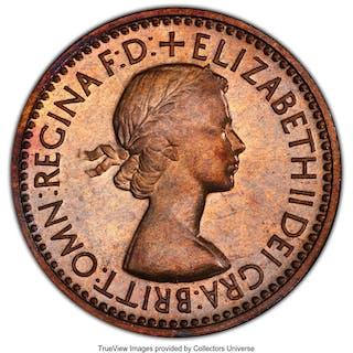 Elizabeth II 10-Piece Certified Proof Set 1953 PCGS, ... (Total: 10 coins)