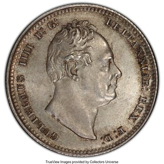 William IV Shilling 1836 MS64+ PCGS,...