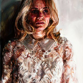Natalie Frank (American, 21st Century) Suzanne Oil on canvas 40 x