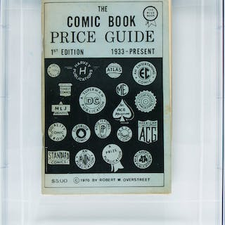 Overstreet Price Guide #1 Second Print
