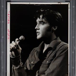 1970's Elvis Presley Original Photograph, PSA/DNA Type 2.