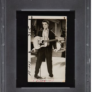 1960's Elvis Presley Original Photograph, PSA/DNA Type 3.