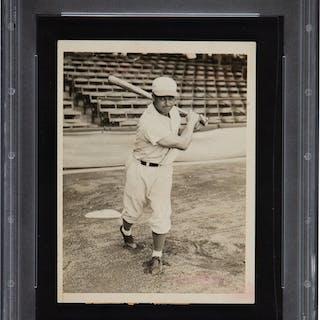 1930's Jimmie Foxx Original News Photograph, PSA/DNA Type 1.