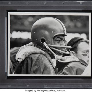 1960's Jim Brown Original Photograph, PSA/DNA Type 1.